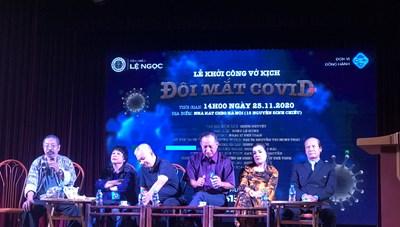 Sân khấu Lệ Ngọc dựng vở diễn về đề tài Covid-19