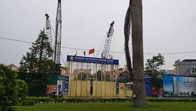 Thanh Hóa: Tecco rầm rộ ép cọc xây chung cư khi chưa có phép