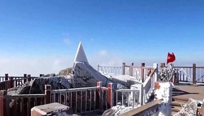 Sapa rét đậm tràn về, đỉnh Fansipan khả năng xuất hiện băng tuyết