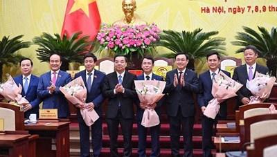 Thủ tướng phê chuẩn 5 Phó Chủ tịch UBND thành phố Hà Nội