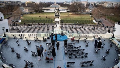 Phong tỏa Điện Capitol, diễn tập lễ nhậm chức của ông Biden bị gián đoạn