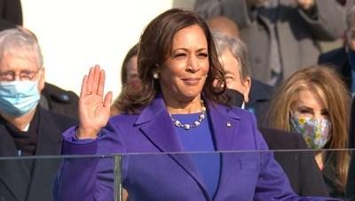 [VIDEO] Nữ Phó Tổng thống đầu tiên trong lịch sử nước Mỹ tuyên thệ