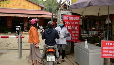 Phát hiện ra 5 F1 của ca bệnh 1553 tại Yên Bái