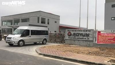 37 công nhân Công ty POYUN dương tính với covid-19 trong xét nhgiệm lần 2