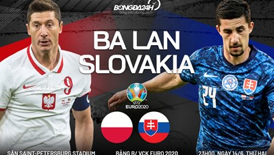 [VIDEO] Ba Lan vs Slovakia - Đại bàng gãy cánh