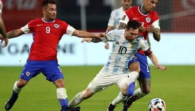 [VIDEO] Argentia 1-1 Chile: Messi ghi siêu phẩm đá phạt