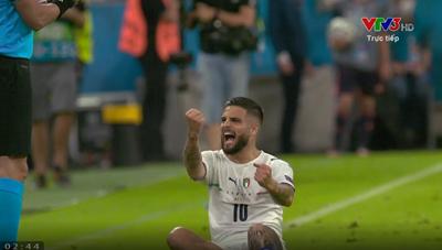[VIDEO] 2-0 cho Italia - Pha 'cứa lòng' đẳng cấp của Insige
