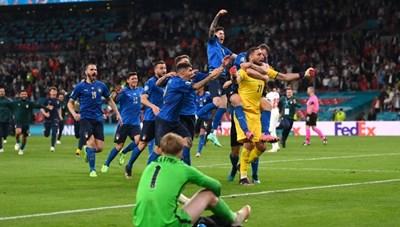 [VIDEO] Đội tuyển Ý lần thứ 2 lên ngôi vô địch EURO