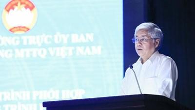 [VIDEO] Đẩy mạnh công tác phối hợp giữa UBTƯ MTTQ Việt Nam và Ủy ban Dân tộc