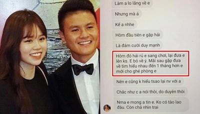 Lùm xùm tình ái với Quang Hải, Huỳnh Anh bất ngờ ẩn bài đính chính