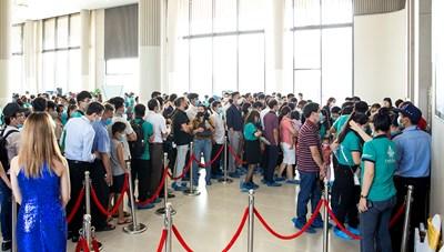Hơn 1.000 khách hàng dự lễ ra mắt căn hộ mẫu Bien Hoa Universe Complex