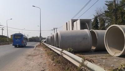 Thanh tra Sở GTVT Đồng Nai vào cuộc xử lý vi phạm ở Nhà máy bê tông đúc sẵn Hùng Vương