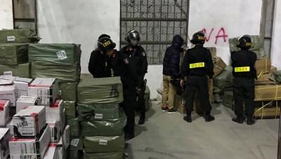 Từ thông tin của Báo Đại Đoàn Kết, Công an 'đột kích' kho hàng phụ tùng xe máy ở Đồng Nai
