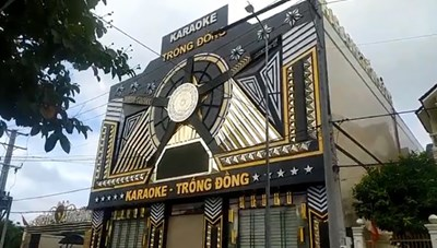 Thu hồi giấy phép kinh doanh của quán karaoke Trống Đồng