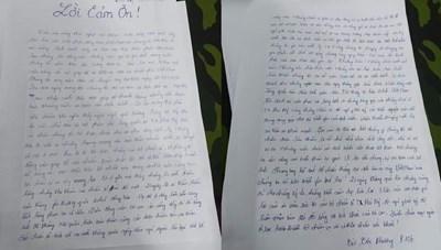 Tâm thư đầy xúc động của công dân về từ Dubai sau khi hoàn thành cách ly tập trung