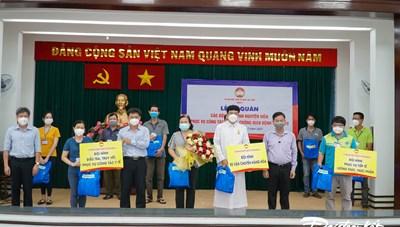 TP Hồ Chí Minh: Nhiều tình nguyện viên có kiến thức y tế tham gia chống dịch