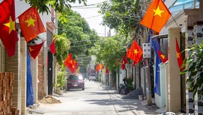 TP Vũng Tàu: Rực cờ đỏ Tổ quốc, 'vùng xanh' quyết tâm chiến thắng đại dịch