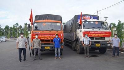 Lâm Đồng hỗ trợ Bà Rịa-Vũng Tàu 30 tấn rau củ chống dịch Covid-19
