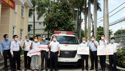 Đồng Nai: Doanh nghiệp đồng hành hỗ trợ trang thiết bị y tế phòng, chống dịch Covid-19