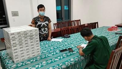 Bà Rịa-Vũng Tàu: Lợi dụng giãn cách xã hội để vận chuyển 1.000 bao thuốc lá điếu