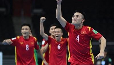Châu Đoàn Phát ghi bàn, futsal Việt Nam đi tiếp vào vòng 1/8  World Cup