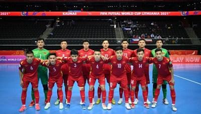 Tái đấu Nga tại vòng 1/8 World Cup, futsal Việt Nam giải 'nhiệm vụ bất khả thi'