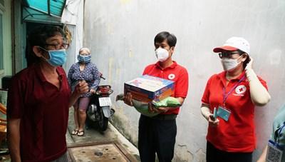 Mô hình 'Kho lương thực, thực phẩm' hỗ trợ người dân gặp khó
