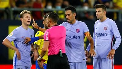 HLV Koeman nhận thẻ đỏ trực tiếp, Barca 'lao dốc' chưa từng thấy sau 18 năm