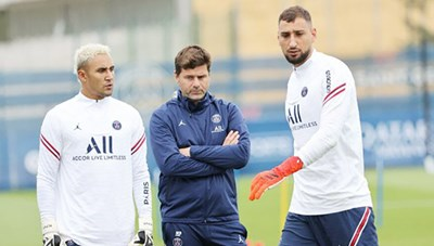 Donnarumma bị đẩy lên ghế dự bị vì 'phe cánh' của Messi tại PSG