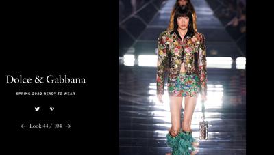 Người mẫu Việt trình diễn cho show thời trang của Dolce & Gabbana