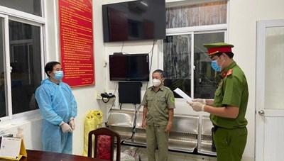 Bà Rịa-Vũng Tàu: Khởi tố đối tượng làm lây lan dịch bệnh