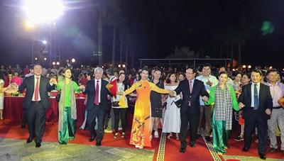 Ấn tượng chương trình nghệ thuật 'Văn hóa các dân tộc - Hội tụ và phát triển'