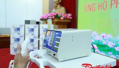 Cận cảnh 500 chiếc máy thở MV20 sản xuất tại Việt Nam