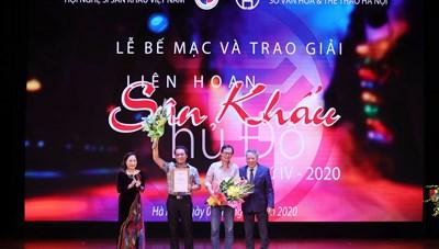 LucTeam thắng lớn tại Liên hoan sân khấu Thủ đô lần thứ IV