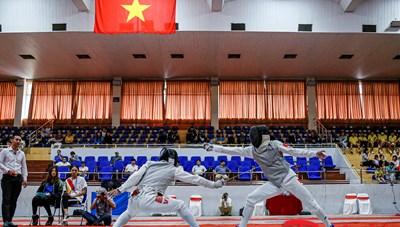Những tay kiếm xuất sắc dự tranh giải Vô địch đấu kiếm quốc gia 2020