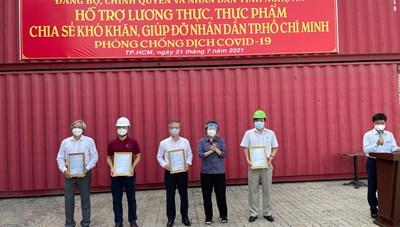 TP Hồ Chí Minh tiếp nhận 292 tấn hàng hóa hỗ trợ từ tỉnh Nghệ An