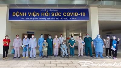 TP Hồ Chí Minh: Tổng cộng  80.441 bệnh nhân Covid-19 xuất viện