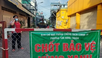 TP Hồ Chí Minh: Nhiều địa phương có kết quả tích cực trong phòng, chống dịch