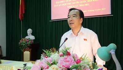 Bắc Giang: Nhiều cử tri phản ánh về vấn đề xử lý rác thải nông thôn