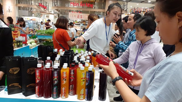 Đẩy mạnh xuất khẩu qua kênh bán lẻ hiện đại