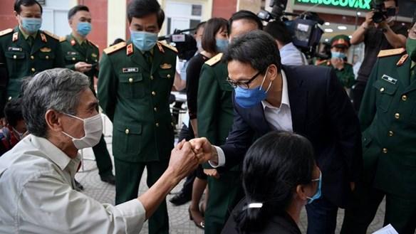 Phó Thủ tướng Vũ Đức Đam: Khẩn trương, rút ngắn thời gian phát triển vaccine Việt Nam