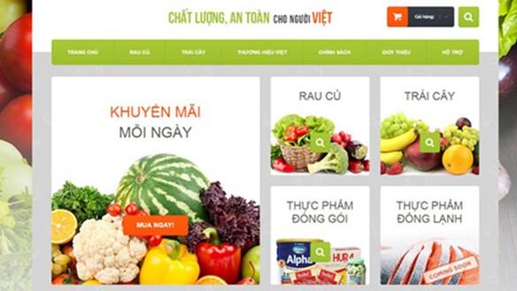 Nông sản bắt nhịp 'chợ online'