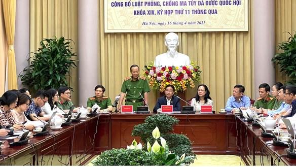 Công bố lệnh của Chủ tịch nước về Luật Phòng chống ma túy