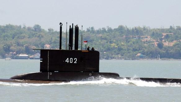Tàu ngầm KRI 402 mất tích