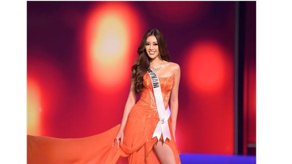 Hoa hậu Khánh Vân dừng lại ở top 21 Miss Universe