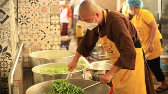Ấm áp bếp ăn Tường Nguyên