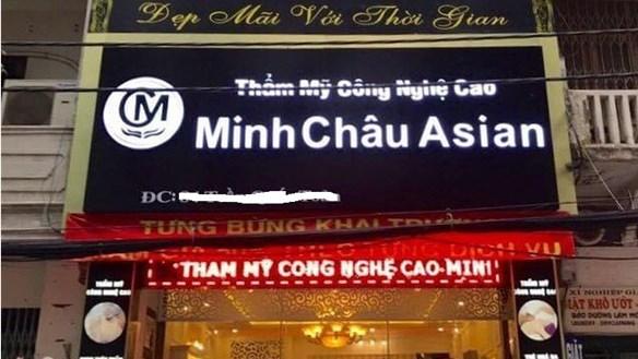 Chủ tịch HĐQT Công ty CP Thẩm mỹ Minh Châu Asian bị hàng loạt người tố cáo