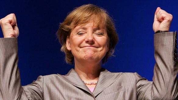 Nước Đức tạm biệt 'tượng đài Angela Merkel'
