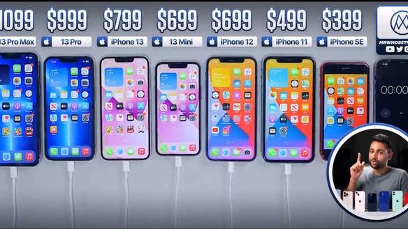 iPhone 13 Pro Max đọ thời lượng pin với các phiên bản 'đàn em'
