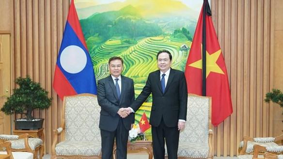 Chủ tịch Trần Thanh Mẫn gửi Điện mừng Quốc khánh Cộng hòa Dân chủ Nhân dân Lào